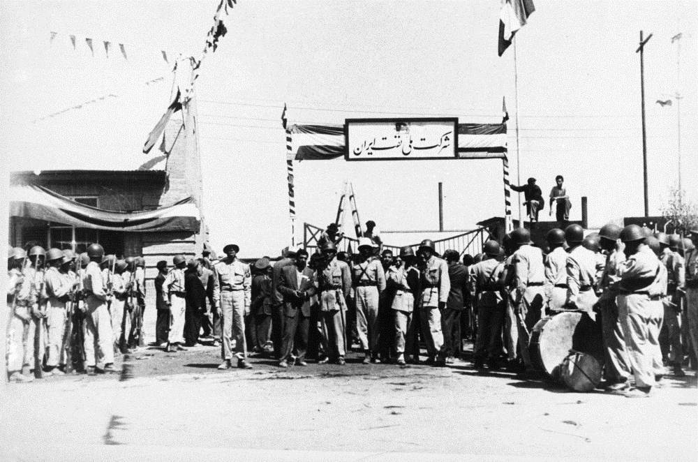پالایشگاه کرمانشاه در زمان ملی شدن صنعت نفت